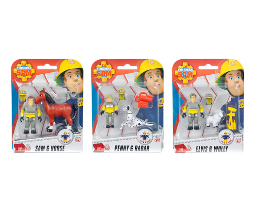 Sam Tierrettung Figuren Set, 3-sort. 109259746