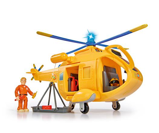 HelicopterMini Die Cast SerieFeuerwehrmann Sam Set Hydrus Venus